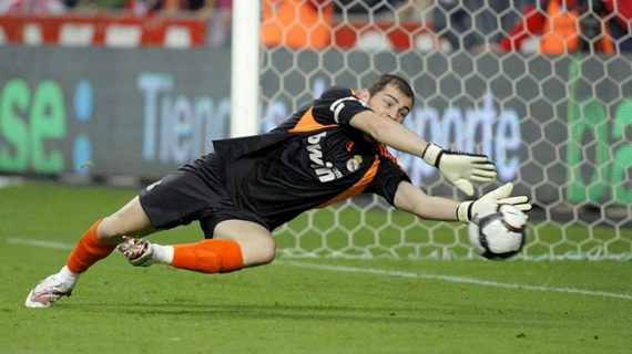 Skill dan Save Iker Casillas