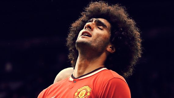 Fellaini: Simbol Periode Kelam Manchester United