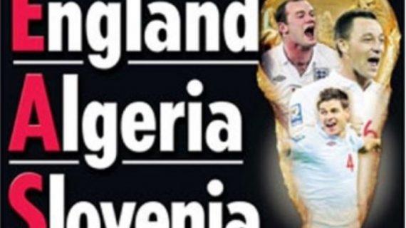 Ketika Inggris Tersingkir dari Piala Dunia Akibat Ulah Media Mereka Sendiri