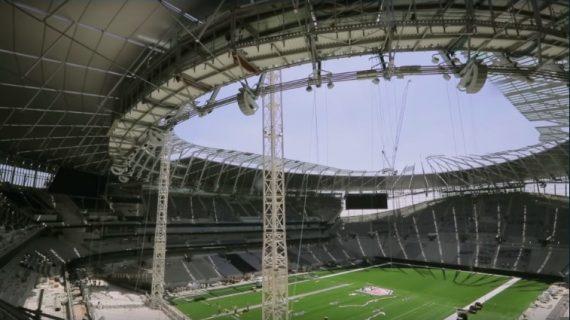 Mengapa Stadion Baru Tottenham Tak Kunjung Selesai?