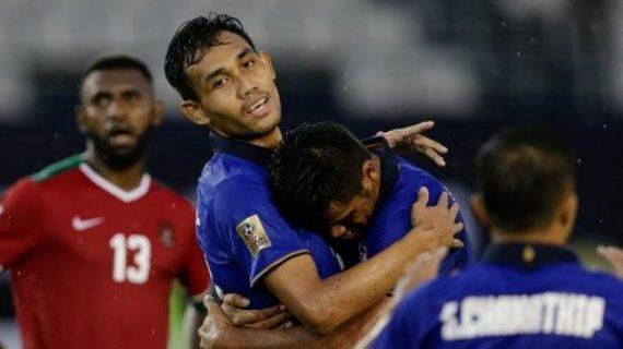 Berita Bola Hari Ini 23 Maret 2019: Hasil Kualifikasi Euro, Indonesia Kalah Telak Dari Thailand