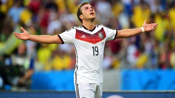 Skill dan Goal Mario Gotze