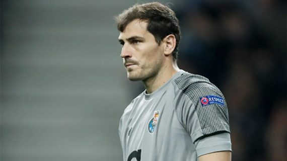 Berita Bola Hari Ini 1 Mei 2019: Casillas Alami Serangan Jantung, Messi Cetak Gol Ke 600, Conte Ingin Latih MU