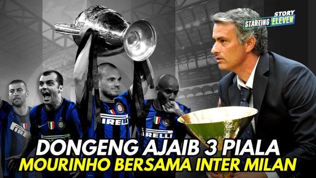 Kenangan Paling Bersejarah Inter Milan Yang Mampu Meraih Treble