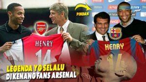 Kisah Tangisan Thierry Henry Ketika Dibuang Arsenal Ke Barcelona