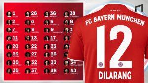 Masih Jadi Misteri, Mengapa Bayern Munchen Tidak Memiliki Pemain Bernomor Punggung 12 ?