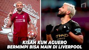 Ketika Sergio Aguero Nyaris Bergabung Dengan Liverpool