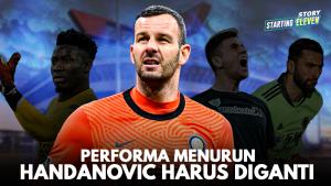 Mau Sampai Kapan Pakai Handanovic, Inter?