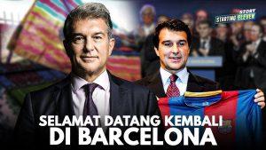 Mengenal Joan Laporta, Presiden Baru Barcelona