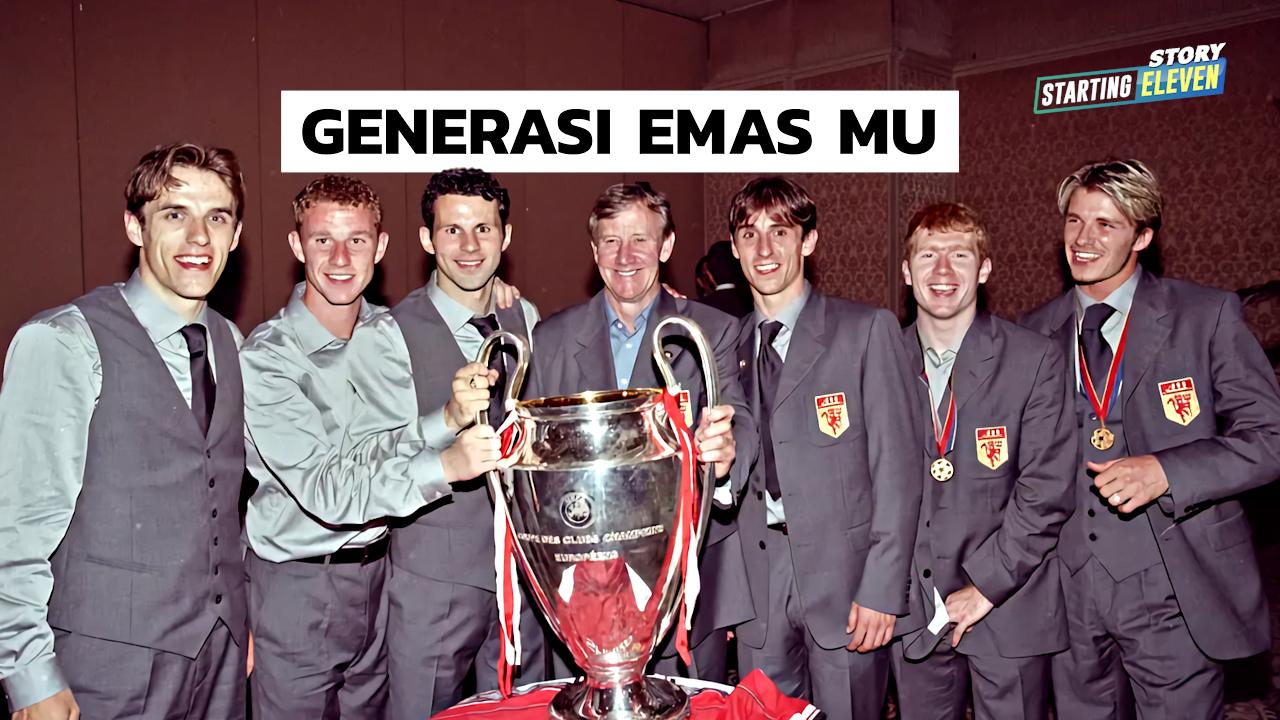 Class of '92: Generasi Emas Pengukir Sejarah Manchester United
