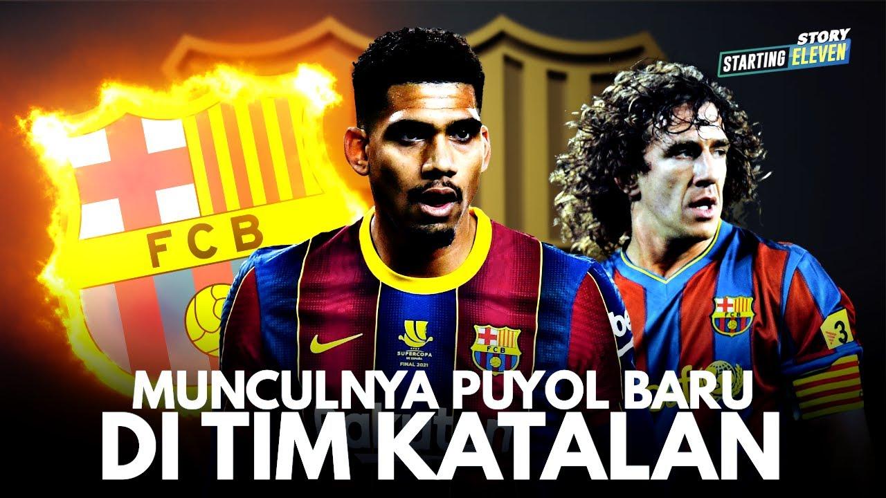 Mengenal Ronald Araujo Bek Jangkung Barcelona Penerus Legenda Carles Puyol