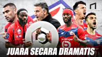 Perjalanan Panjang Lille Akhiri Dominasi PSG di Ligue 1