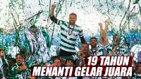 Perjalanan Panjang Sporting Lisbon Akhiri Puasa Gelar 19 Tahun