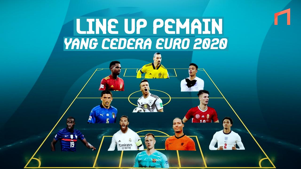 Akibat Cedera, 11 Pemain Bintang Ini Absen di EURO 2020