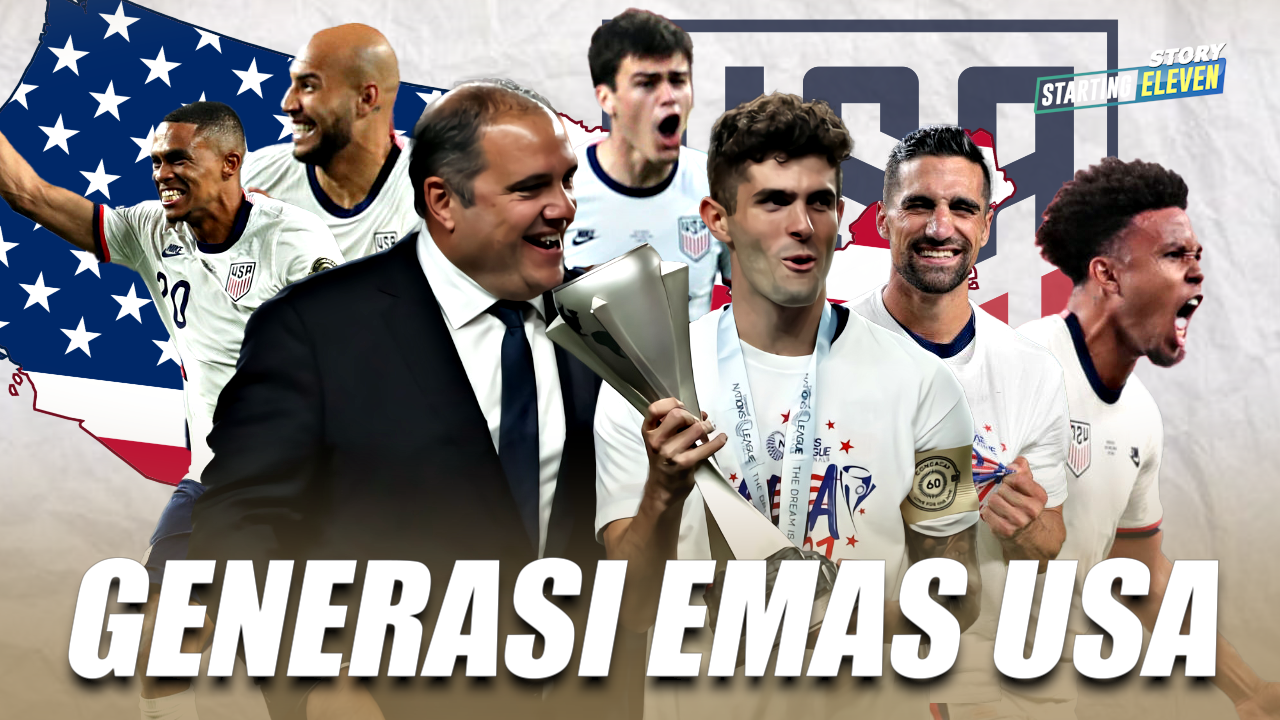 Generasi Emas Amerika Serikat Juara CONCACAF Nations League 2021