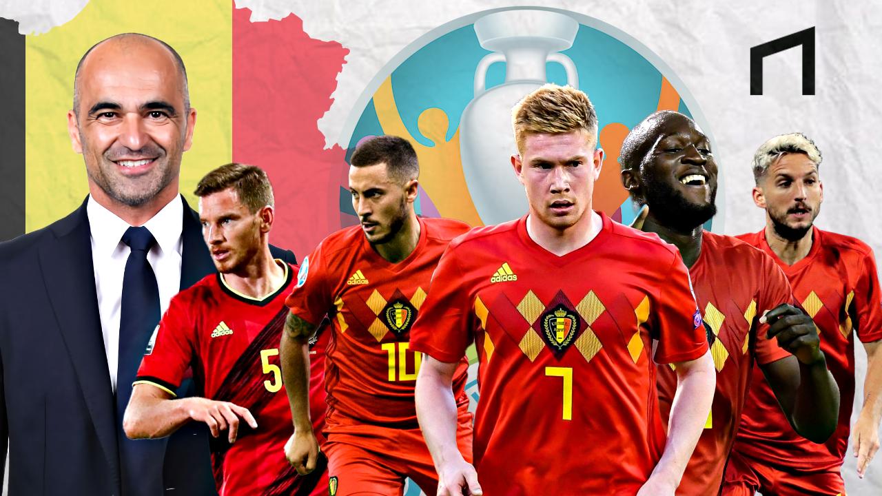 Generasi Emas Belgia Memburu Trofi EURO 2020