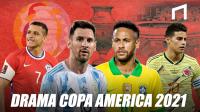 Kontroversi Dibalik Kemegahan Copa America 2021
