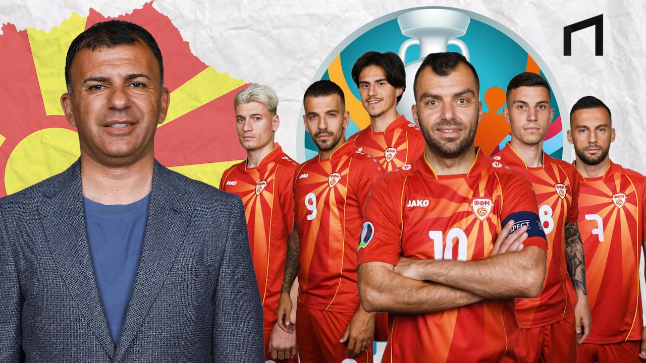 Makedonia Utara, Debutan Ambisius yang Lolos Dramatis ke Euro 2020
