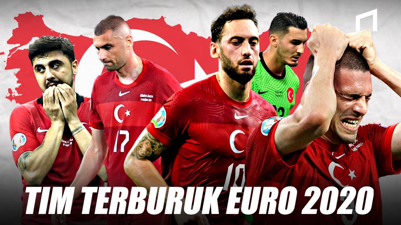 Turki Gagal Total Sebagai Kuda Hitam di Euro 2020, Apa Penyebabnya