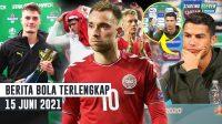 REKOR! Gol AJAIB Patrick Schick - Denmark DIANCAM UEFA - Ronaldo 'Tendang' Botol Sponsor