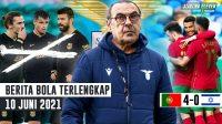 RESMI Sarri Latih Lazio - Portugal HANCURKAN Israel - Barcelona Jual 18 Pemain