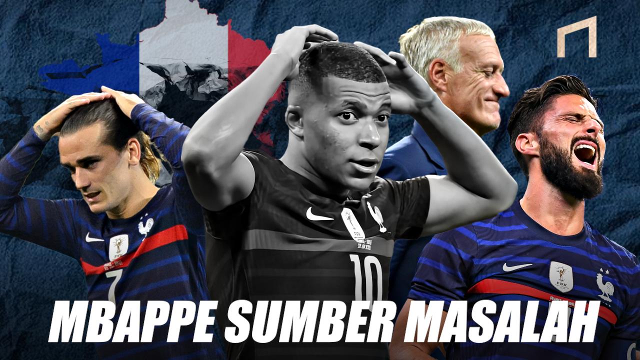 Kylian Mbappe, Ber-ego Tinggi dan Jadi Biang Kerok Kegagalan Prancis di Euro 2020