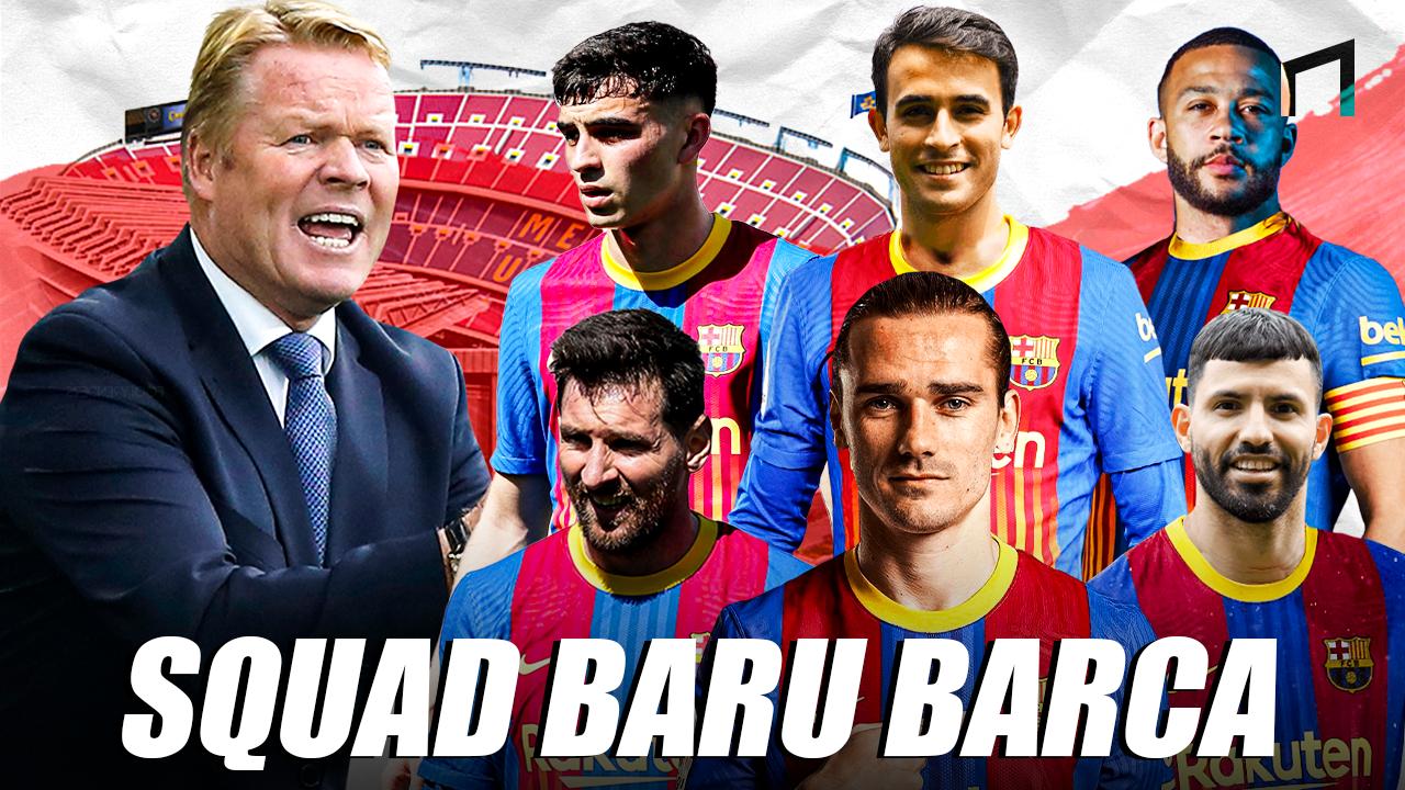 Meraba Kekuatan FC Barcelona di Musim Depan 202021