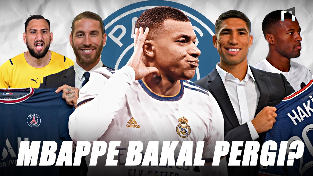 PANAS Mbappe Tolak Bertahan di PSG Meski Banyak Bintang yang Datang