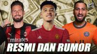 RESMI! 7 Pemain Ini Dapatkan Klub Baru Untuk Musim Depan!