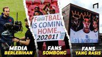 Shame on You England! Ini 5 Dosa Inggris di Euro 2020