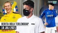 Giroud Tes Medis di Milan - Everton Depak James Rodriguez - Dortmund Tak Sudi Jual Haaland ke Chelsea