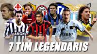 Magnificent Seven Mengenang Kompetisi Terbaik Serie A Bersama Tujuh Tim Legenda