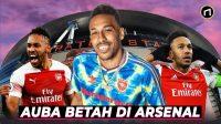 Mengapa Aubameyang Betah Bertahan di Arsenal