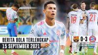 Lord Lingard NGELAWAK, MU Takluk - Bayern BANTAI Barca - CR7 Samai Rekor Messi & Casillas