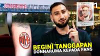 Begini Respon Donnarumma Terhadap Cemoohan Fans Milan