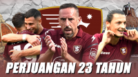 Merayakan Kemenangan Perdana Salernitana di Serie A Italia
