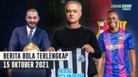 Sterling Cabut dari Man City, Ditampung Barcelona - Benzema Raih Ballon D'or - Mourinho Tangani Newcastle
